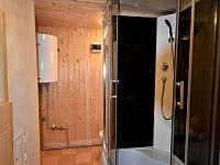 koupelna - chata ubytování Dolní Lomná