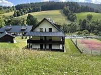 Velké Karlovice ubytování 8 lidí  ubytování