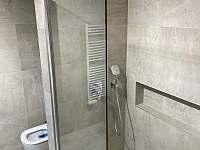 Koupelna - apartmán k pronájmu Velké Karlovice