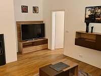 Obývací pokoj - apartmán k pronájmu Velké Karlovice