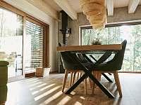 babí léto v obývací části - pronájem chaty Malenovice
