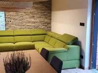 obývací prostor - chata k pronajmutí Malenovice