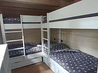 pokoj s patrovými postelemi - Malenovice