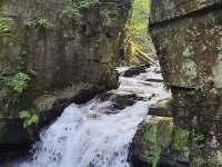 Satinské vodopády - Malenovice
