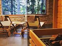 výhled ze sauny - Malenovice