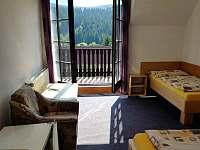 Standard – 3lůžkový s balkónem - Horní Bečva