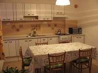kuchyň - apartmán k pronájmu Bystřice nad Olší
