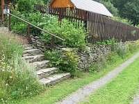 Příjezd k domu - Bystřice nad Olší
