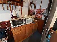 Kuchyň - chalupa k pronajmutí Ostravice