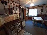 Kuchyň - pronájem chalupy Ostravice