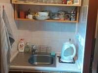 Kuchyňský koutek s dřezem