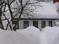 Chata Beskiden v zimě - Valašská Bystřice