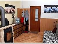 HL.místnost s rozkl.sedačkou - pronájem chaty Horní Bečva