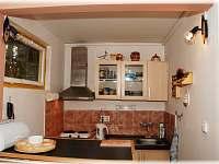 Pohled na kuchyňku - chata k pronajmutí Horní Bečva