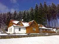 zima na chalupě - ubytování Valašská Senice