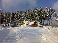 zimní krása - chalupa k pronájmu Valašská Senice