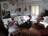 obývací pokoj(2-3 postele) - pronájem chalupy Trojanovice
