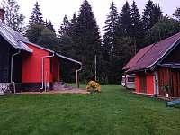 chata a zahrada - k pronajmutí Horní Bečva
