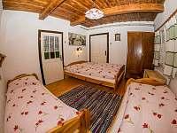 Apartmá 2 - pronájem chalupy Horní Bečva