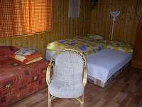 obývací místnost, jedna z ložnic