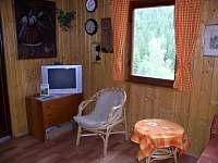 obývací místnost, kout s televizí