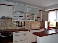 kuchyně - pronájem apartmánu Karolinka