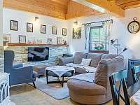 Obývací pokoj v chalupě č.2 - Valašská Bystřice
