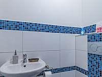 samostatné wc na chalupě č.1 - pronájem chaty Valašská Bystřice