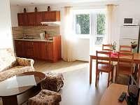Ap. 1 kuchyně - apartmán k pronajmutí Horní Bečva