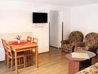 Ap. 1 Obývací pokoj - apartmán k pronajmutí Horní Bečva