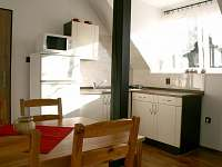 Ap. 2 Kuchyně - apartmán k pronajmutí Horní Bečva