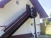 Ap. 2 Schodiště vchod - pronájem apartmánu Horní Bečva