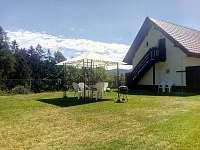 Ap.2 zahrada - apartmán ubytování Horní Bečva