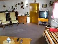 Obyvací pokoj,televizor,domácí kino. - chalupa ubytování Dolní Bečva