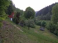 Pohled od ohniště - Dolní Bečva