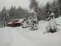 Zima na chalupě - Dolní Bečva