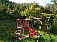 Dětské hřiště - chata ubytování Malá Bystřice