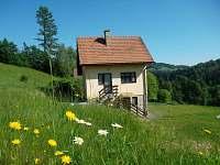 Okolí chaty - k pronájmu Malá Bystřice