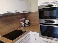 Kuchyň - pronájem chalupy Trojanovice