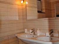 Chata - koupelna v přízemí 2 - k pronájmu Horní Lomná