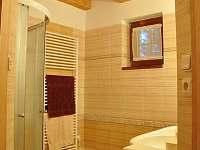 Chata - koupelna v přízemí