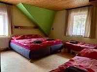 ložnice - apartmán k pronajmutí Karolinka