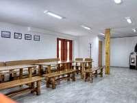 Společenská místnost - pronájem chalupy Nový Hrozenkov