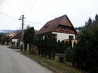 Chata Rajnochovice - Příjezdová cesta