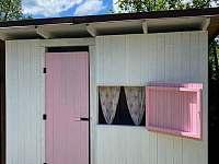 Dětský domek na zahradě - Rajnochovice