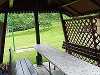 Malý altánek - pronájem chaty Valašska Bystřice