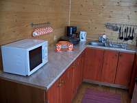 kuchyň2 - pronájem chalupy Staré Hamry
