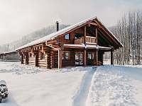 Srub Kanada na Čeladné v zimě