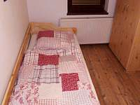 druhá ložnice - pronájem chalupy Rožnov pod Radhoštěm