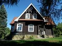 Roubená vila Kunčice pod Ondřejníkem ubytování - k pronájmu